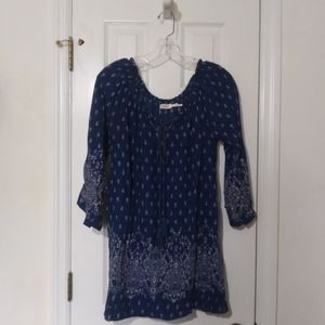 Blu Pepper blouse in excellent condition